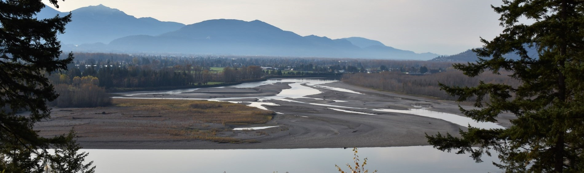 High water in Fraser River